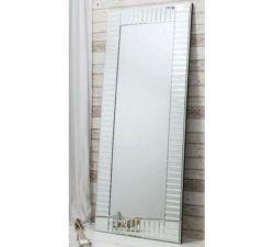 Espelho de chão filetado
