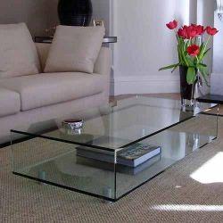 Mesa de centro em vidro GLASS